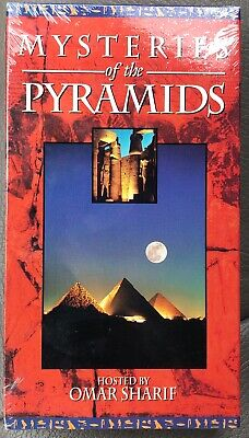 Mysteries Of The Pyramids - VHS BRAND NEW SEALED Omar Sharif Documentary