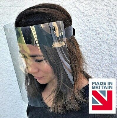 20 x Face Shields/Face Visors with Adjustable Strap