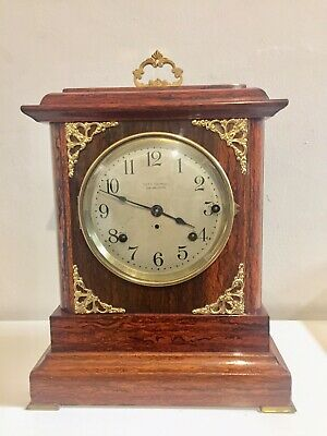 Antique Unusual Rare Seth Thomas Sonora Westminster Chime 4 Bells Bracket Clock