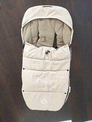 Bugaboo Footmuff Off White / Cream - Compatible With All Bugaboo Pushchairs