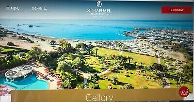 Ultra all-inclusive 7night holiday (2 adults 3 children).  St Raphael 5*, Cyprus