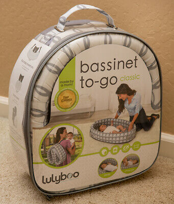 New Bassinet To-Go Classic / Lulyboo / 0-12 / Travel & Waterproof