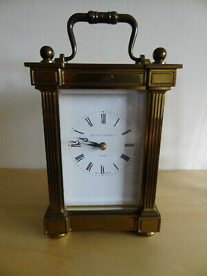 Matthew Norman grande corniche strikng/chiming carriage clock