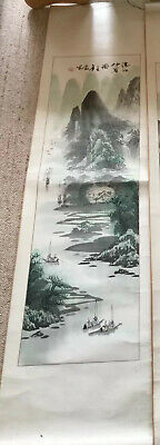 Chinese/Japanese Wall/Hanging Scroll X 3