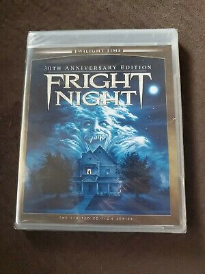 Fright Night (1985) Twilight Time 30th Anniversary Limited Edition Bluray NEW