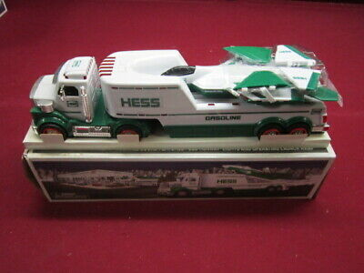 2010 HESS TOY TRUCK and JET  m.i.b.
