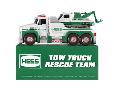 Hess 2019 Tow Truck And Rescue Team.new/Working Lights