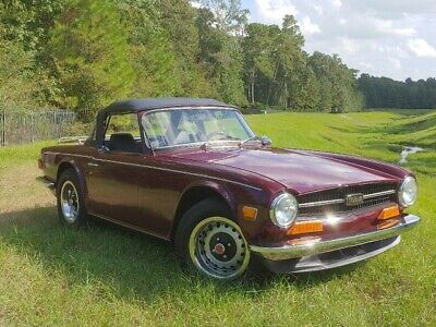 1972 TR-6  1972 Triumph Supercharged TR6! 5 Speed! 40 Year Ma