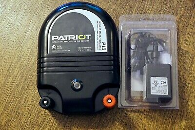 Patriot P10 Electric Fence Energizer Charger Controller with New Power Adapter