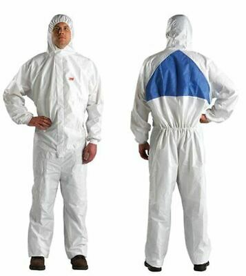 3M Protective Safety Coverall Suit with Hood L/4540 New Large 1 PCS SHIP NOW