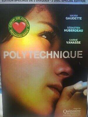 Polytechnique (DVD, 2-Disc Special Edition) VERY RARE OOP + GLOSSY SLIPCOVER !!!