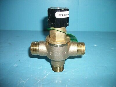 """NEW LEONARD 370-LF 3/4 Exposed Point Mixing Valve Brass 3/4"""" Inlet & Outlet"""