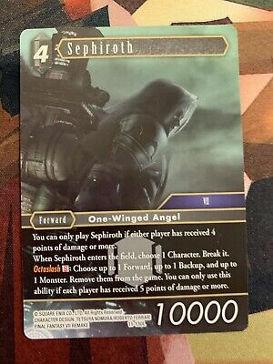 Final Fantasy Trading Card Game Sephiroth 11-130L Opus XI Legend NM ENG