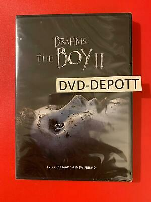 Brahms: The Boy 2 II DVD & Slipcover AUTHENTIC Brand New FAST Free Shipping