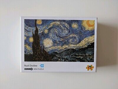 1000 Piece Vincent Van Gogh The Starry Night Jigsaw Mini Puzzle Adults Kids