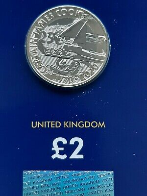 Brand New 2020 Captain James Cook Two Pounds £2 Coin Brilliant Uncirculated BUNC