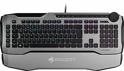 TURTLE BEACH-Horde AIMO - Membranical RGB Gaming Keyboard White UK Layout  NUEVO