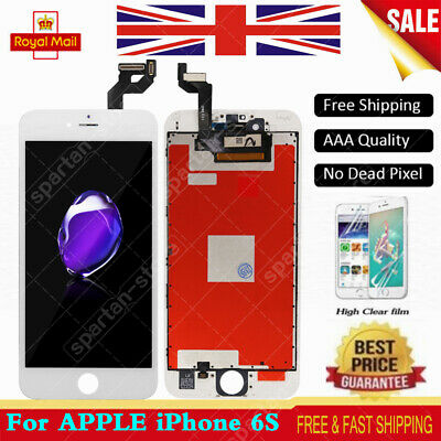 For iPhone 6S LCD Screen Assembly Display Touch Digitizer White Replacement