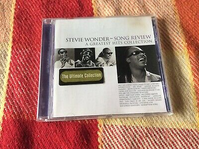 Stevie Wonder: Song Review - A Greatest Hits Collection CD 1996