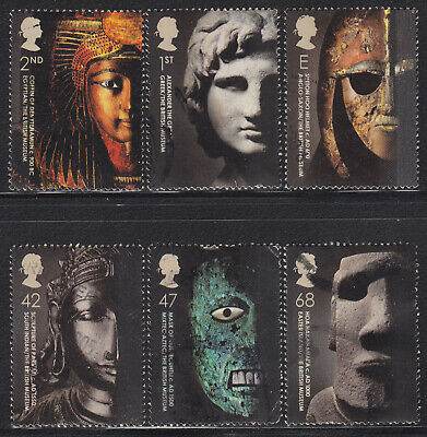 2003 GB British Museum SG 2404-2409 Set Of 6 Used Commemorative Stamps