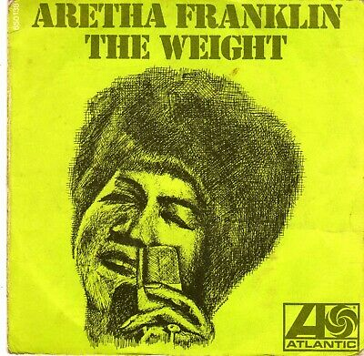 Aretha Franklin - 45 T SP The weight (1969)