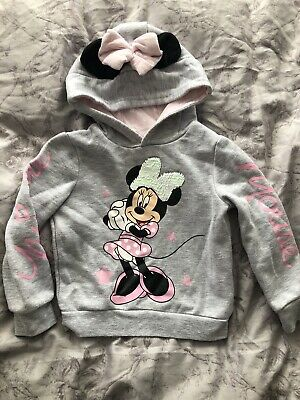 Minnie Mouse Hoody Age 2-3