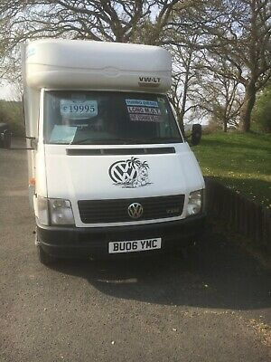 Exchange VW motor home fixed double bed 2006 4/6 berth tank PX +cash