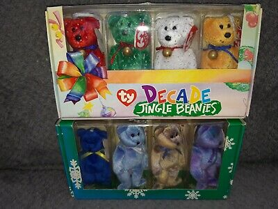 TY Jingle Beanies - Decades & Clubby Boxed Sets
