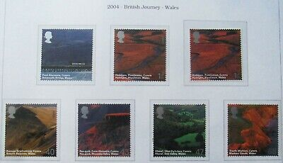 Royal Mail Stamps, British Journey, Wales 2004 Full Set, 7 stamps unmounted Mint