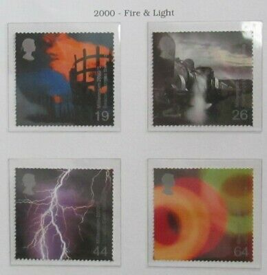 Royal Mail Stamps, Fire and Light 2000. Unmounted Mint