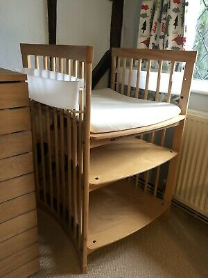 Stokke Care Baby Changing Table with Mat and Storage Tubs