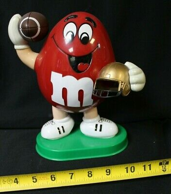 M&M Candy Dispenser Large Football player