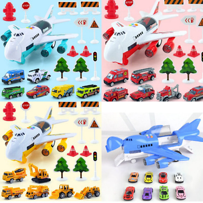 Toy Aircraft Music Story Simulation Track Inertia Children'S Toy Aircraft Large