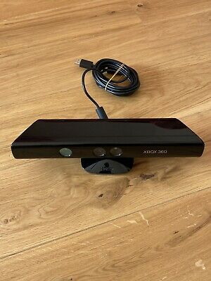 Microsoft 1414 Xbox 360 Kinect Sensor Bar Only - Black - GOOD WORKING CONDITION