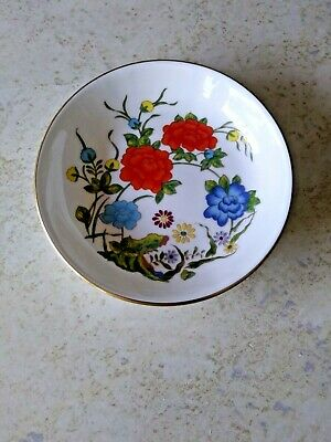 Aynsley Bone China  Famille Rose trincket  Repoduction XVII CNT Ch'ing Dynasty*