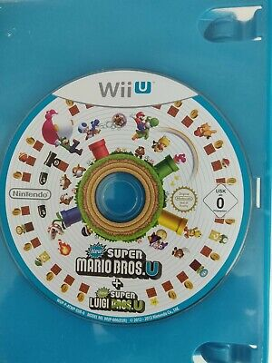 New Super Mario Bros U + New Super Luigi U * Nintendo Wii U * Disc only + case