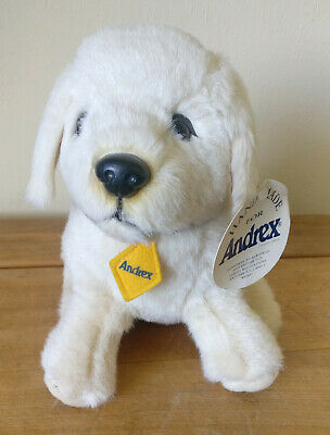 """Andrex Puppy Dog Cuddly Soft Toy - Brand New With Tags - 9"""" Tall"""