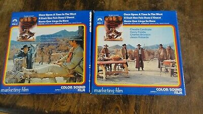 super 8 mm film  ONCE UPON A TIME IN THE WEST  2 FILMS