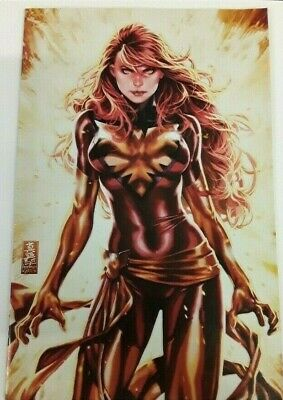 Phoenix Resurrection #1 Mark Brooks RED Virgin Variant Cover * FREE SHIP * NM *