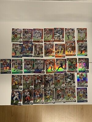 2020 panini prizm draft picks football Lot Of 36 WR Vets/RC 🔥 Refractor/base