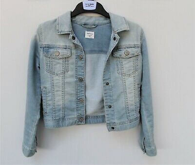 Gap Kids Girls Light Blue Denim Jacket, L Regular, 10-11 Yrs