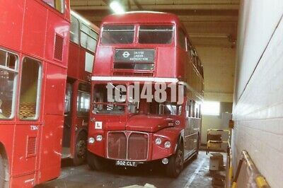 35mm negative  London Buses 502CLT