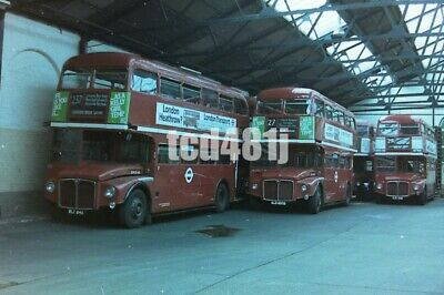 35mm negative London Buses  WLT848  ALD893B @ Stamford Brook