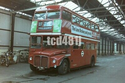 35mm negative London Buses  WLT684
