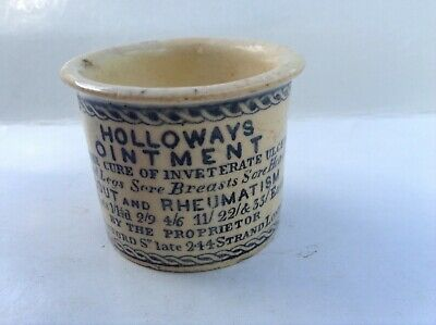 Early type Holloways ointment pot