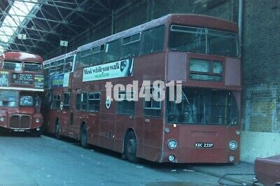 35mm negative London Buses KUC233P