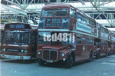 35mm negative London Buses ALM68B @ Victoria