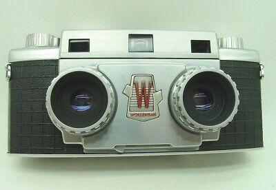 Splendid Wollensak 10 Stereo Camera, perfectly working,  with Wollensak case