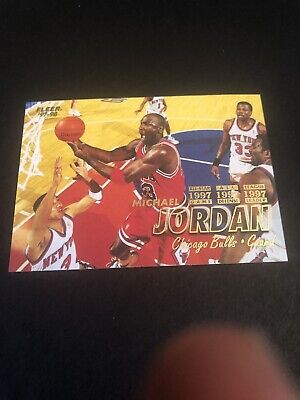 "1997-98 Fleer Michael Jordan ""The Last Dance"" #23 0250"