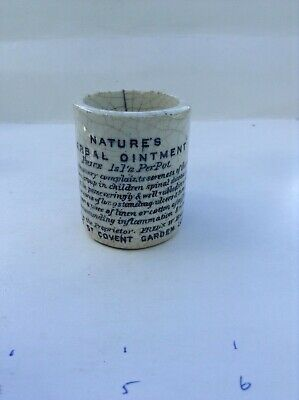 Natures herbal ointment pot